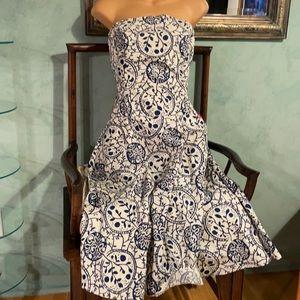 Tabitha strapless dress